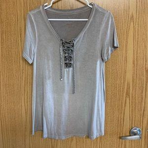 American eagle top blouse medium